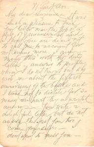 Briefentwurf