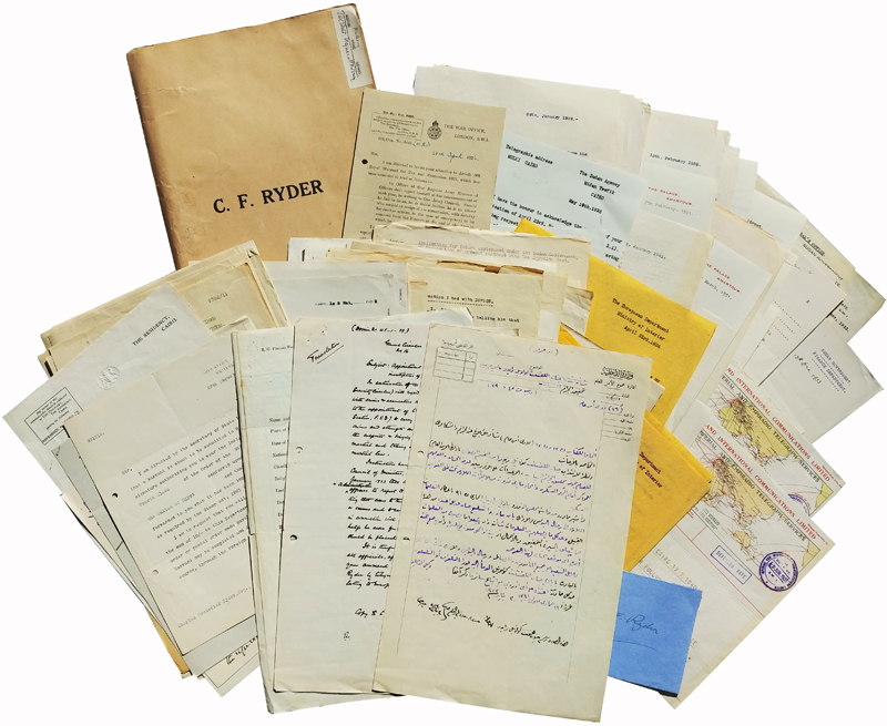 The C.F.Ryder Papers