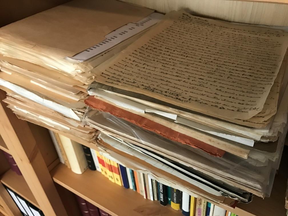 Neuaufnahme Archivalien